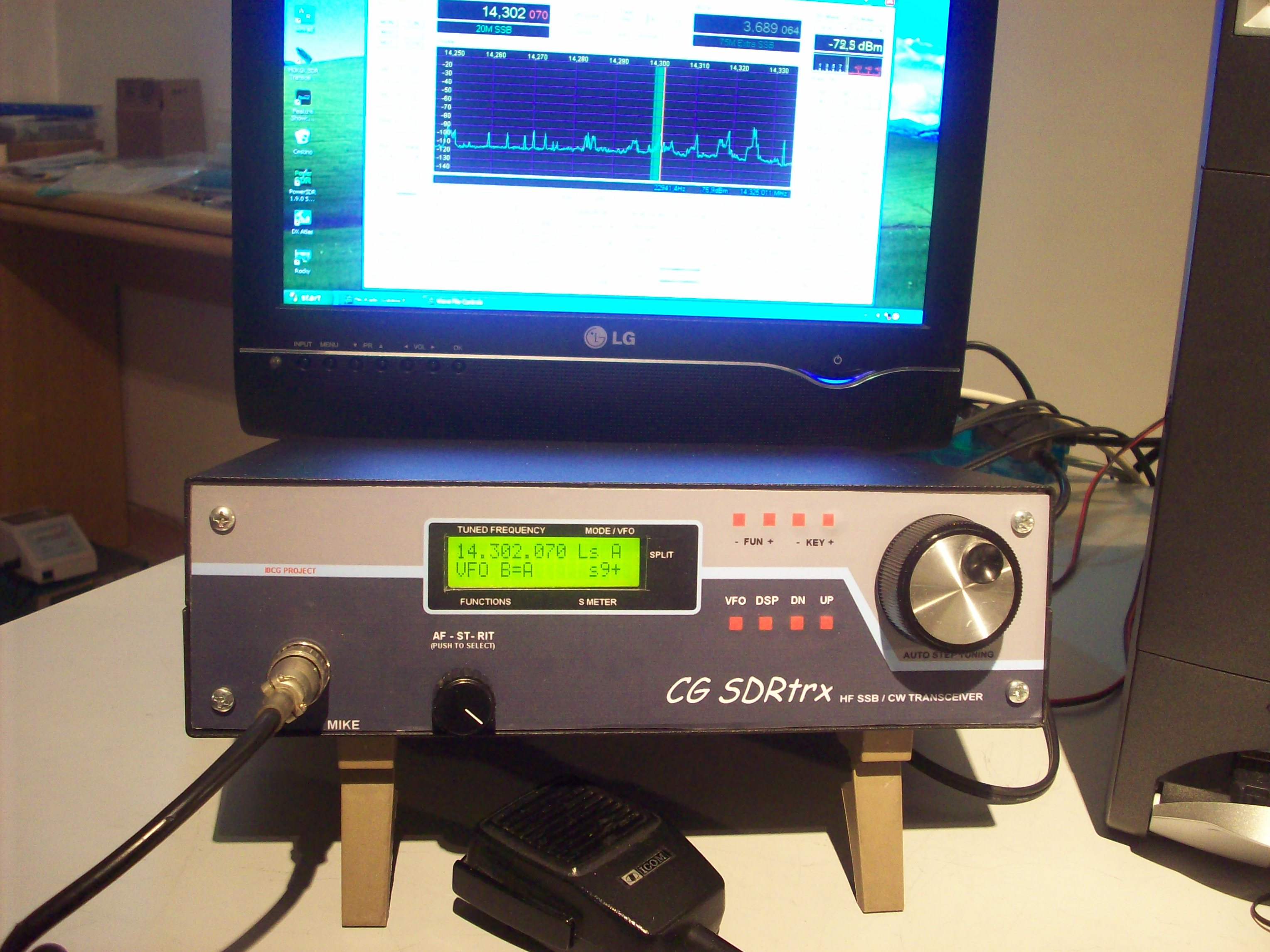 I0CG SDR receiver project